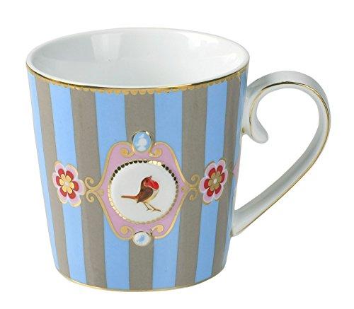 Pip Studio Tasse groß Love Birds Medallion | Multicolour - 250 ml