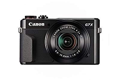 Canon PowerShot G7 X 20.2 MP With 4.2X Optical Zoom And 3 inch LCD (Black) by Canon