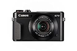Canon G7X Mark II Travel Camera
