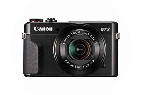 Canon PowerShot Digital Camera [G7 X Mark II] with Wi-Fi & NFC, LCD Screen, and...