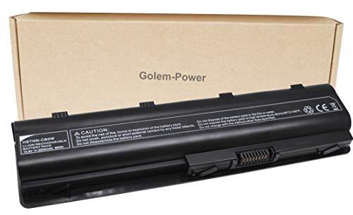 Golem-Power HSTNN-CB0W Batería de Repuesto del HP Ordenador Portátil 10.8V 5200mAh Compatible con HP G32/G42/G62/G72; Presario CQ32/CQ42/CQ62/CQ72; Pavilion DM4/G4/G6; Envy 17