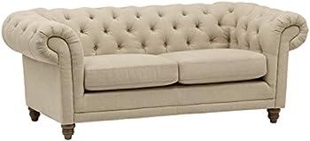 Amazon Brand Stone & Beam Bradbury Chesterfield Tufted Loveseat Sofa