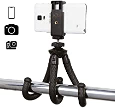 iOgrapher Compact Flexible Mini Tripod, with Action Camera Mount, Phone Mount, 1/4 20 Mount, Compatible with iOgrapher Cas...