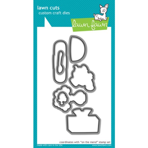 Lawn Cuts Custom Craft Die-On The Mend by Lawn Fawn