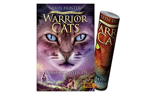 Buchspielbox Warrior Cats - Das gebrochene Gesetz - Eisiges Schweigen (Staffel VII, Band 2) + Warrior Cats Poster by Collectix