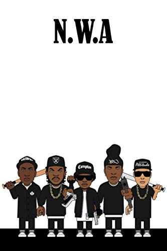 N.W.A Notebook : Lined Notebook For N.W.A , 6