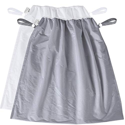 Diaper Pail Bags 2 Pack, Reusable Water-Resistant Cloth Diaper Pail Liner for...