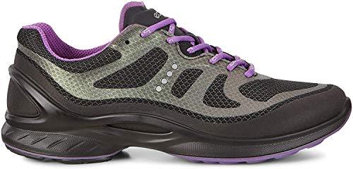 ECCO Women's Women's Biom Fjuel Tie Walking Shoe, Black/Black, 40 EU/9-9.5 M US