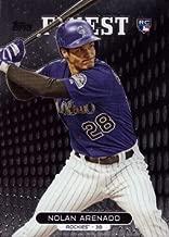 2013 Topps Finest Baseball #37 Nolan Arenado Rookie Card