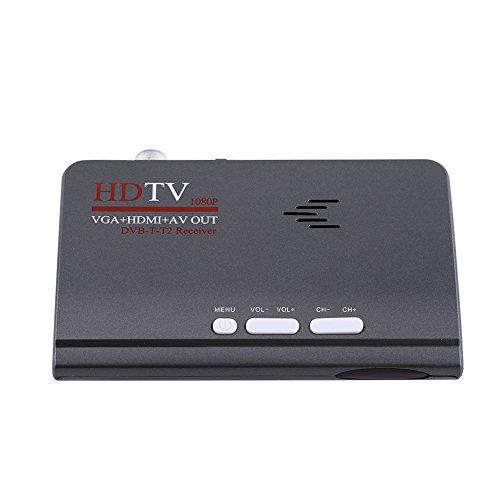 Socobeta - Ricevitore TV HDMI TV Box con porta VGA