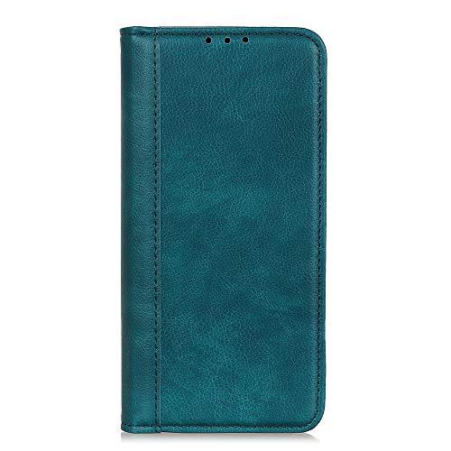 Sunrive Funda para Xiaomi Mi 8 Pro, Funda Protección Carcasa Cuero Resistente Cierre Magnético,Carcasa en Folio, Soporte Plegable (062 Verde Oscuro) + 1 x Lápiz óptico