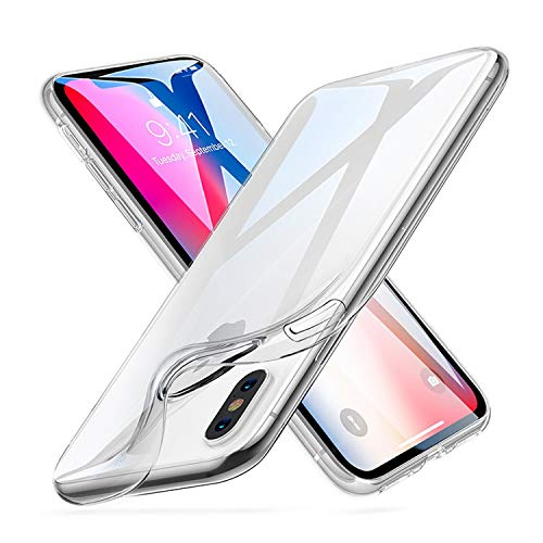 GNFD Cover Iphone X Silicone Trasparente Custodia Nuova Generazione Ultrasottile Antiurto Resistente Indistruttibile Protettiva TPU Ultraslim Alta Qualità