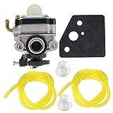 AISEN Carburetor for WYL-242-1 WYL-242 WYL242 Fuel Line Primer Bulb