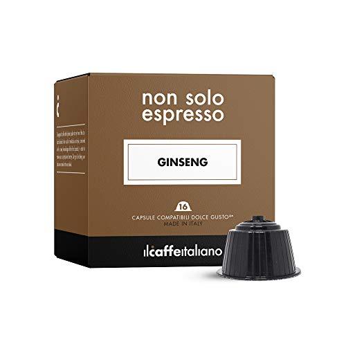 48 Ginsengkapseln mit dem Nescafè-Dolce-Gusto-System kombpatible - Il Caffè Italiano
