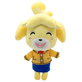 """Animal Crossing New Leaf Plush Toy Suitable for Collection Animal Crossing  New Horizons Stuffed Doll Toy Can be Used as a Gift for Children s Halloween Christmas 8""""  Isabelle"""