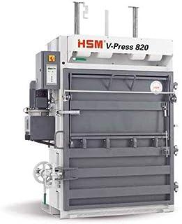 HSM HSM6143 V-Press Plus Vertical Baler Compresses Plastic Foil & Cardboard