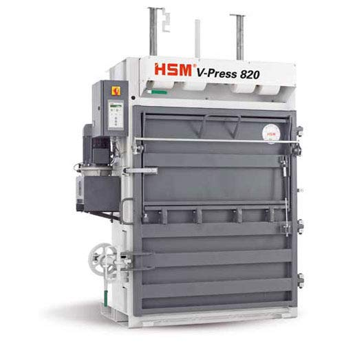 Best Deals! HSM V-Press 820 Plus Vertical Baler, HSM6143
