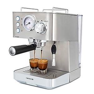 IKOHS Cafetera KAFFETA ESPRESS – Cafetera Espress Semiautomática