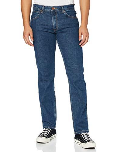Wrangler Greensboro Jeans, Blu Darkstone, W50/L32 Uomo