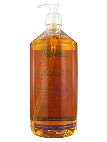 Melvita Extra Gentle Shower Shampoo 1l