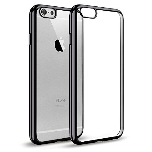 WELKOO Funda para iPhone 5/ 5s/ SE, Funda Transparente Cristal Silicona Suave...
