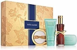 Estee Lauder 2010 Youth Dew Sumptuous Favorites 2.25 oz Eau de Parfum EDP 2.5 oz Perfumed Body Lotion Satinee 3.5 oz Soap 1 oz Dusting Powder Gift Set