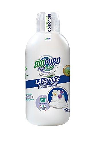 Biopuro Detersivo Concentrato per Lavatrice - 3 pezzi da 1 kg [3 kg]