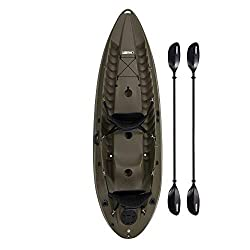 Best Recreational Kayak Lifetime Sport Fisher Single or Tandem Kayak