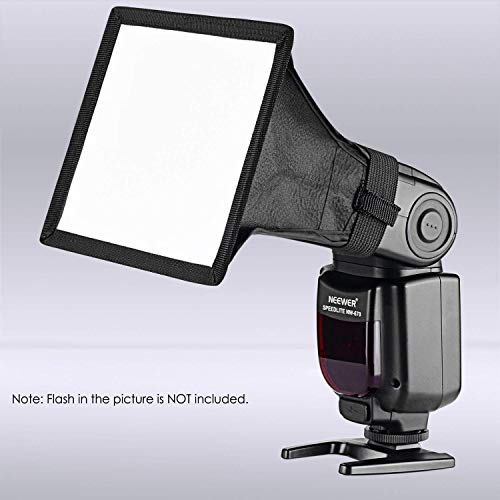 Neewer 15x13 cm Speedlite Softbox Blitzlicht Diffusor für Canon 580EX II 600EX-RT, YongNuo YN560 III YN560 IV, Nikon SB-900 SB-910, Neewer TT560 TT520 TT660 und andere DSLR Blitze