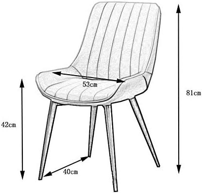 Zoternen Chaises de Salle /à Manger Chaise Creuse Cr/éatif Chaise de Caf/é Ergonomique Chaise Jardin D/écoration pour Maison Jardin Bureau Salon Caf/é Bar Noir