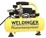 WELDINGER Flüster Kompressor FK 40 compact 275 W Luftabgabe 32