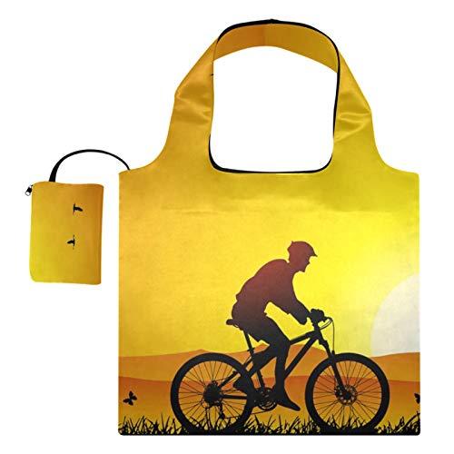 XiangHeFu Bolsas de compras reutilizables de los totalizadores del regalo del supermercado...