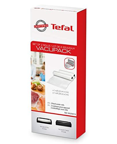 Tefal XA2560 Zubehör für Vakuumierer, Set mit 2 x Rollen