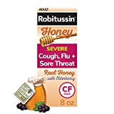Robitussin CF Max Day Adult Syrup for Severe Cough, Honey 8 Fl Oz (Pack of 1) 8 Ounce