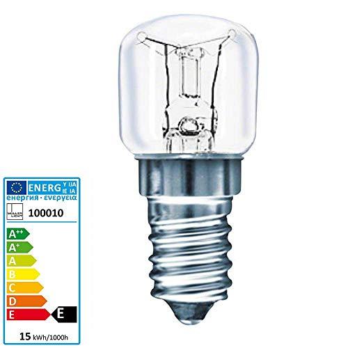 Müller Licht Backofen Lampe 300 Grda Celsius E14 230 Volt 15 Watt klar