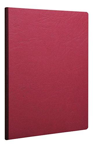 Clairefontaine 791402C - Cuaderno interior liso, 192 páginas, color rojo