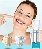 Brightify Deep Cleaning Schaum-Zahnpasta, ultrafeiner Mousse-Schaum Tiefenreinigung, Bleaching Zahnpasta,Zahn-Zahnpasta-Reinigungsschaum, Instant Brightify Natural Zahnpasta (1 Stück)