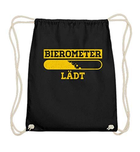 Gymsac - Medidor de cerveza para aficionados a la cerveza y a las fiestas, color Negro, talla 37cm-46cm