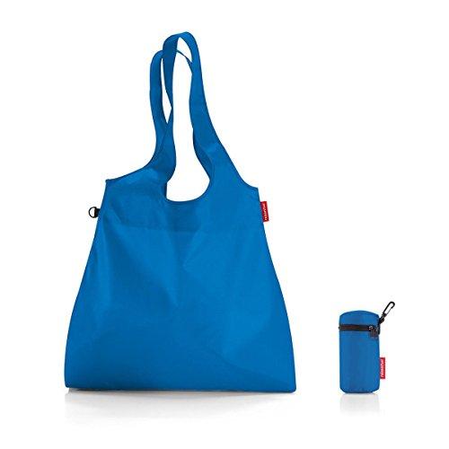 mini maxi shopper L 44 x 68 x 9 cm 22 Liter french blue
