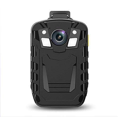 Body Worn Camera Cámara Corporal HD 1296P Lente Gran Angular de 170 ° IP66 Nivel de protección 2.0 Pulgadas LCD de visión Nocturna Altavoz Incorporado,16G