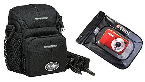 Foto Kamera Tasche Action Black ONE Plus Unterwasserbeutel für Sony Canon Nikon usw