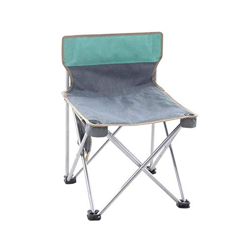 Ultralight Camping Chair Compact Lightweight and Portable Comfortable Design Best for Outdoor Hiking, Backpacking, Festivals and Concerts, Beautiful Green
