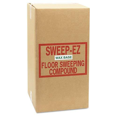 Sorb-All 50WAX Wax-Based Sweeping Compound 50lbs Box