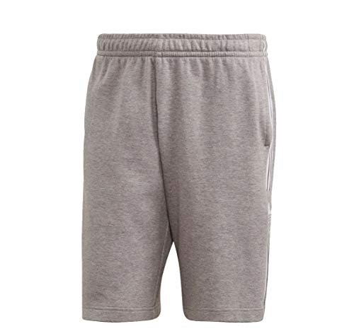 Adidas Lockup - Pantalones cortos Mid Grey Heather S