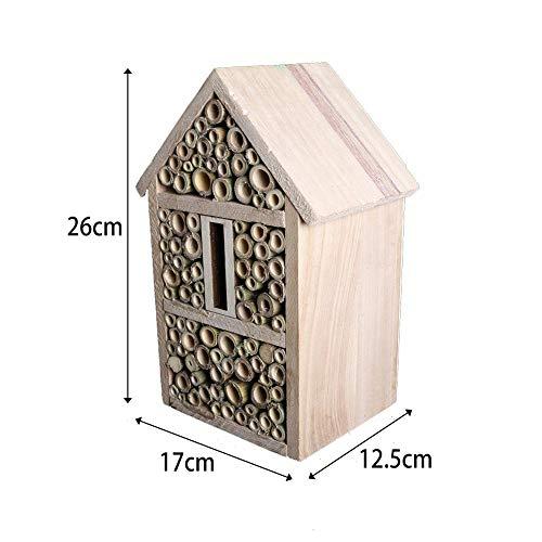 asterisknewly Bienenhaus-Bambusbienenstock Für Alleine Bienenhaus-Garten-Dekoration