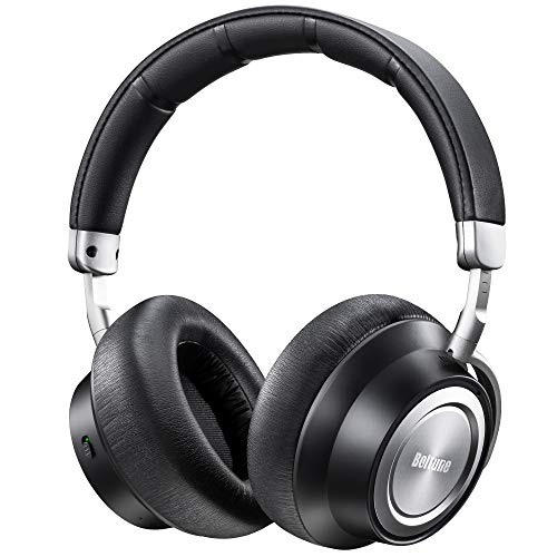 Boltune noise-cancelling Bluetooth over-ear headphones