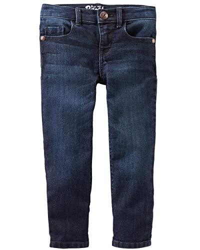 OshKosh B'Gosh girls Skinny Denim Jeans, Heritage Rinse, 6-6X US