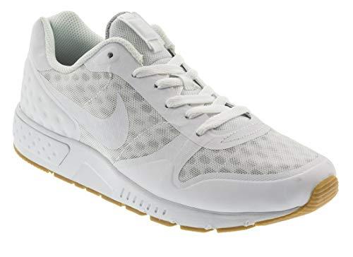 Nike Nightgazer Low Se, Zapatillas Hombre, Blanco (Weiß Weiß), 45.5 EU