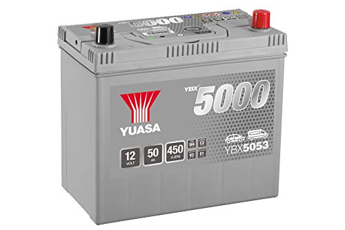 Yuasa YBX5053 12V 50Ah 450A Silver High Performance Battery