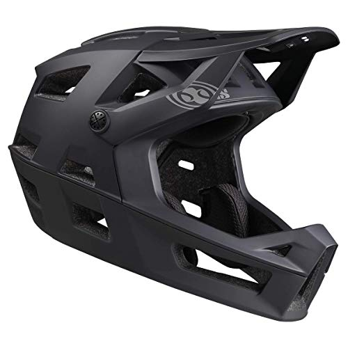 IXS Trigger FF MIPS Casco Integral VTT/E-Bike/BMX Adultos Unisex, Negro Medium